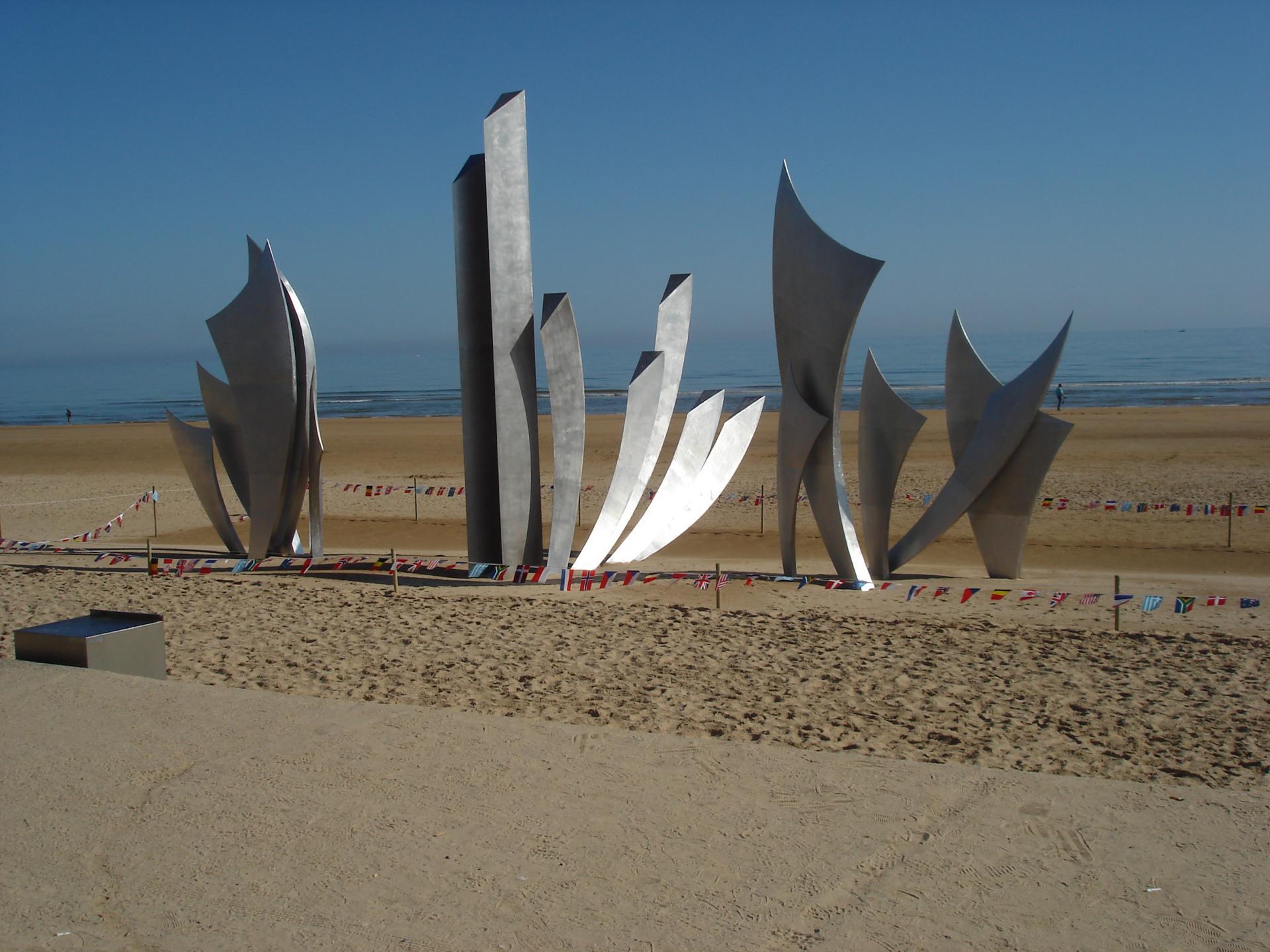 Plage d'Omaha Beach